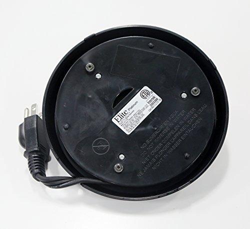 Elite Platinum EKT-7050 1.7L Cordless Electric Kettle Black/Silver