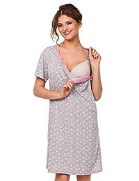 Happy Mama. Womens Maternity Tulip Nightie / Pyjama /Robe SOLD SEPARATELY. 980p