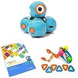 Wonder Workshop Dash Robot with Dash Challenge Cards and Sketch Kit Bundle