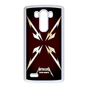 DIY Stylish Printing Metallica Cover Custom Case For LG G3 MK1R502032