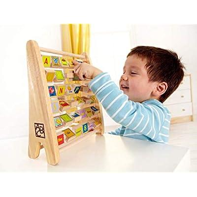 Hape Alphabet Abacus: Toys & Games