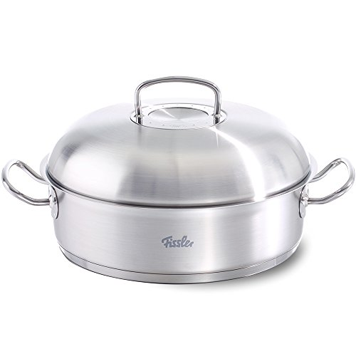 Fissler FISS-08437328001 Round Roaster with Domed Lid, 12