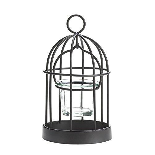 - Koehler Holiday Seasonal Home Decor Iron Charming Mini Birdcage Hanging Candleholder