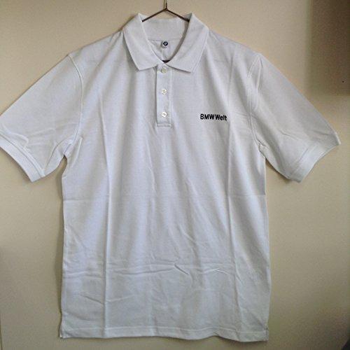 【Lサイズ】BMW Welt ポロシャツ 限定品 スポーツ ゴルフ white bmw museum BMW ベルト 博物館 本社 ドイツ