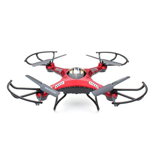 Elaco Upgrade JJRC H8D 4CH 5.8G FPV RC Quadcopter Drone (HD Camera+ Monitor+ 4 Battery) by Elaco