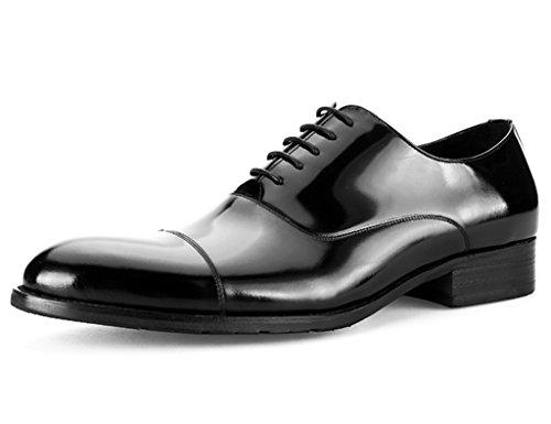 Uno Pelle Uomo HWF britannico Scarpe cerimonia pelle lavoro EU42 da uomo da scarpe da dimensioni UK7 a da Uno brillante 5 Stile punta Scarpe Colore in stile stile in uomo 5qtrfq