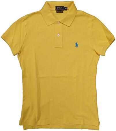 Ralph Lauren Women's Skinny Polo Pony Logo T-Shirt