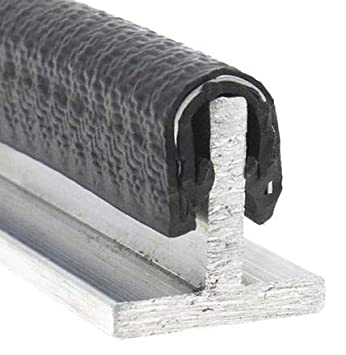 8x12mm Klemmbereich: 1-3mm Kantenschutzprofil mit Stahlband in 4 Gr/ö/ßen 1-4mm Blechst/ärke zum Ausw/ählen