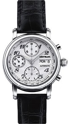 Montblanc Star Chronograph Automatic Mens Watch 8452