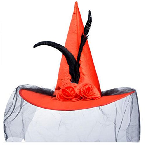 George Jimmy Halloween Costume Party Dress Up Witch Hat Tip Cap Cosplay Net -
