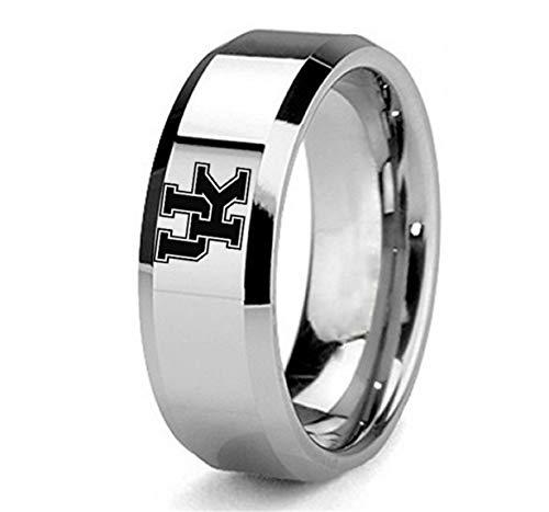 NBA Kentucky Wildcats Logo Titanium Steel Men's Team Ring Jewelry Silver, Size - Nba Kentucky Wildcats