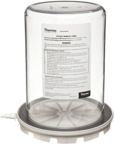 Nalgene 5305-0609 Polycarbonate Vacuum Chamber Jar with Polypropylene Vacuum Plate, 4.7L Capacity, 6-5/8
