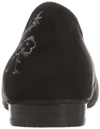 nere Hirschkogel Ballerine donna chiuse 3592709 Grau a dita da schwarz 038 chiuse q48wxqr56