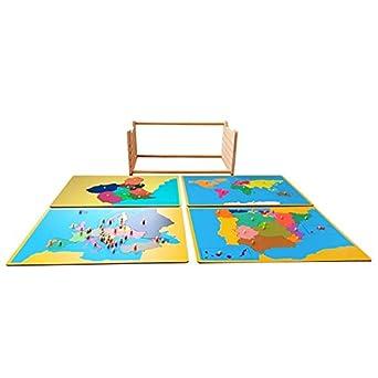 International Montessori Institute - Mapas Puzzle + Mapa De La Región de Murcia + Expositor De Regalo.: Amazon.es: Industria, empresas y ciencia