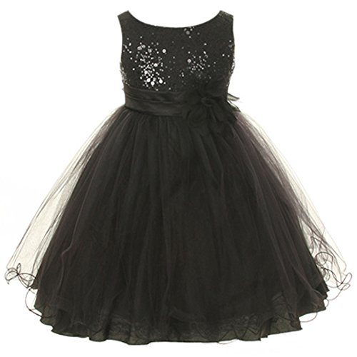 black sparkly dress size 16 - 2