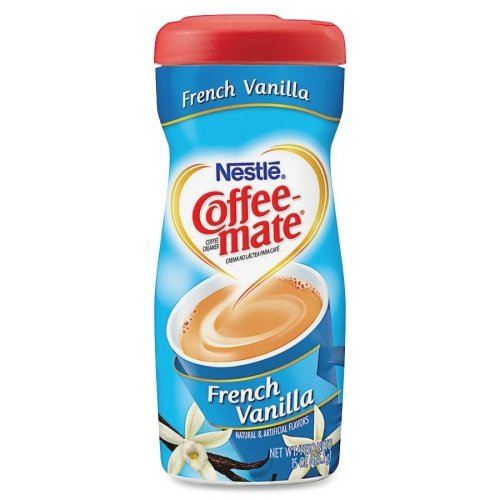 Coffee-Mate Powdered Creamer - French Vanilla Flavor - 15 fl oz - 1/Each