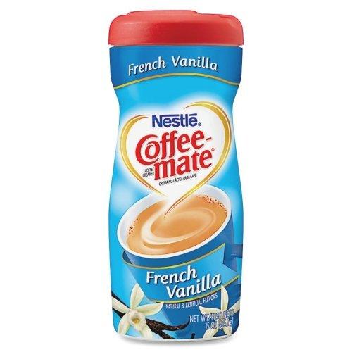 Coffee-Mate Powdered Creamer - French Vanilla Flavor - 15 fl oz - 1/Each by Coffee-mate
