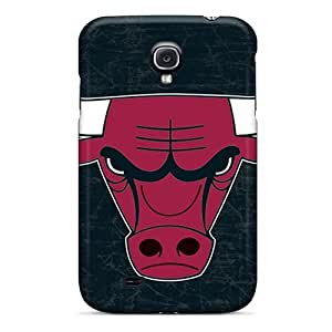 Durable Case For The Galaxy S4- Eco-friendly Retail Packaging(chicago Bulls)