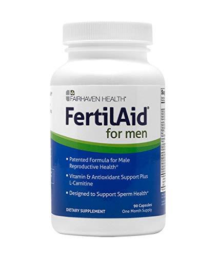 FertilAid for Men – Male Fertility Supplement – Sperm Count Booster, Motility Support, & Healthy Morphology Enhancer…