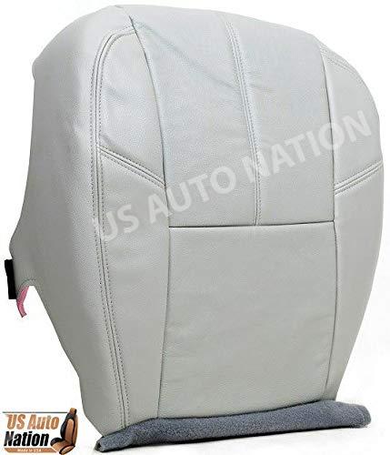 US Auto Nation 2007-13 Chevy Silverado 2500 HD LT LS 4X4 2500HD Driver Bottom Leather Seat Gray 0712LTTITN833BOT