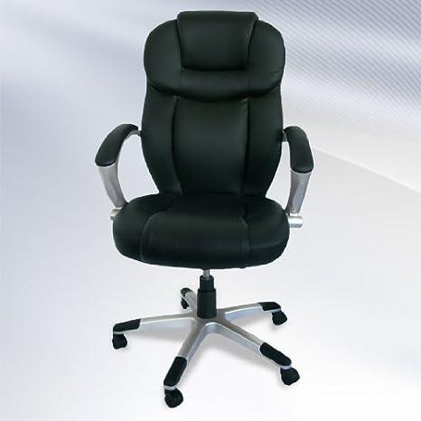 Jago Silla de oficina giratoria con respaldo ergonómico