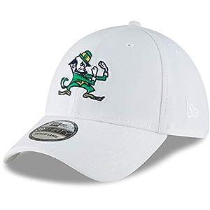 fc9d6fe084b75 New Era Men s White Notre Dame Fighting Irish College Classic 39Thirty Flex  Hat