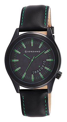 Giordano Analog Black Dial Men's Watch – 1671-01