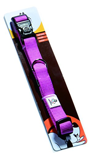 clearance-salesmarz-pet-durable-extra-thick-dog-collar-medium-size-neck-17-22-nylon-collars-for-dogs