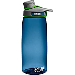 CamelBak Chute Water Bottle, Bluegrass, 1-Liter