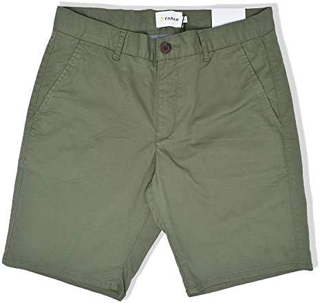 FARAH® Hawk Twill Chino Shorts | Green