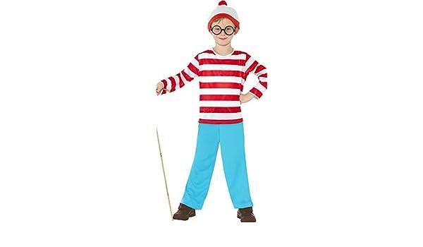 Disfraz de Wally para niños con Gafas: Amazon.es: Productos para ...
