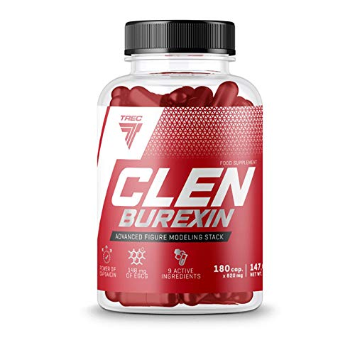Most Effective Thermogenic Fat Burner – Clenburexin 180caps – Trec Nutrition