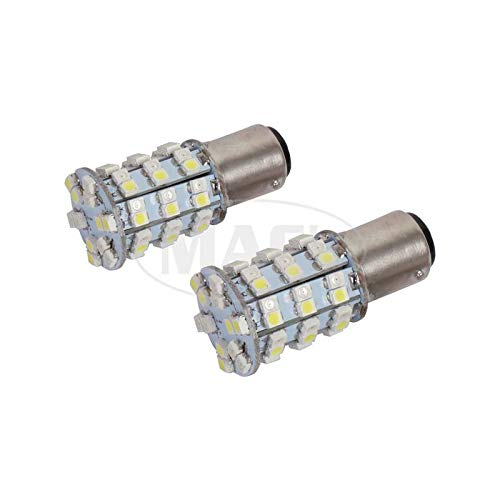 MACs Auto Parts 41-76687 Bulbs,60 LEDs,1157