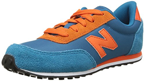 New Balance KL410, Baskets Mode Mixte enfant Bleu (Aoy Aqua)
