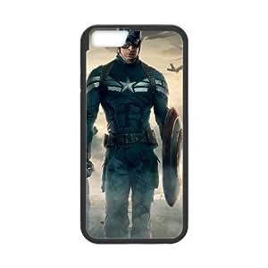 Capitán América El Soldado de Invierno iPhone 6 4.7 pulgadas del teléfono celular funda Negro caja del teléfono celular Funda Cubierta EEECBCAAH79277