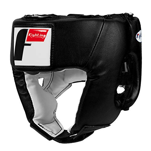 (Fighting Sports USA Boxing Competition Headgear (Open Face), Black, Medium)