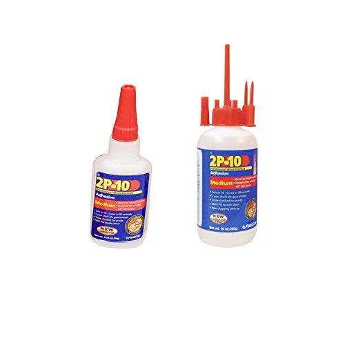 Fastcap 2P-10 2 Oz, 10 Oz Medium Super Glue Adhesive Bott...