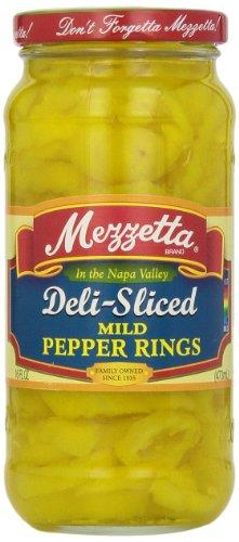 (Mezzetta Sliced Mild Banana Peppers, 16 oz)