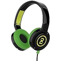 Skullcandy 2XL Barrel Over-Ear Headphones With Microphone, Black/Green