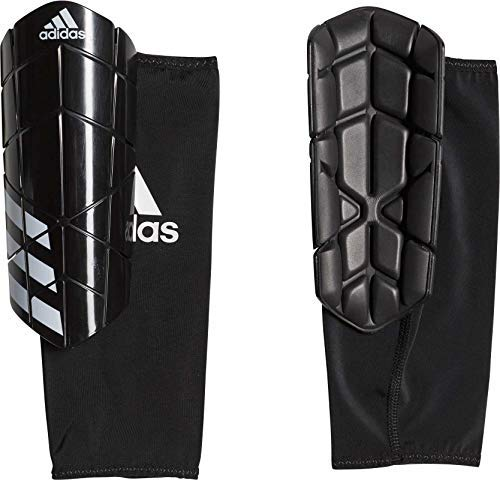 adidas Ever Pro Soccer Shin Guards Black/White Large ()
