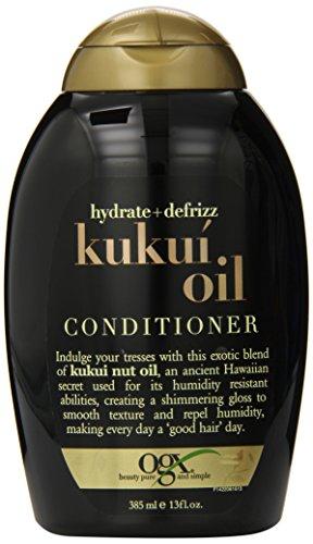 OGX Kukui Oil Conditioner Hydrate Plus Defrizz 13 Ounce ; De