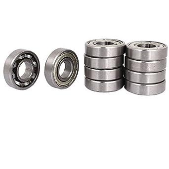 DealMux 10pcs 17mm / 40mm / 12mm 17x40x12mm rodamiento unidireccional embrague Backstop bola: Amazon.es: Industria, empresas y ciencia