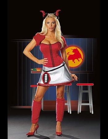 Bad B (Red Bull And Vodka Costume)