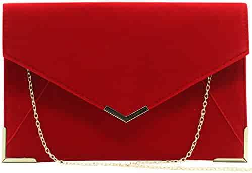 13e7102c655f Shopping Suede - Reds - Evening Bags - Clutches & Evening Bags ...