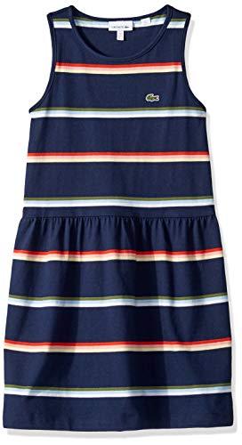Striped Drop Waist Dress - 9