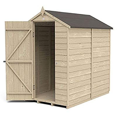 Apex 4x6 Overlap Shed Windowless