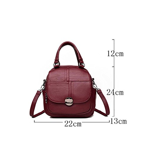 Bag Backpack Bag functional Multi Multi Leisure Bag Leisure Bag functional Women Women Shoulder Blackandwhitegrid Backpack Shoulder qA1n8w