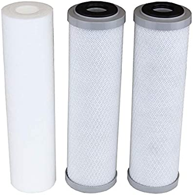 Compatible Apec Filter Set Bottom 3 Filters For Model Roes 50 Roes 75 Ro 45 Ro 90 Ro Ph90 Ro Perm Ro Pump Ro Hi Wfs 1000 Roes Uv75 Roes Ph75 Roes Phuv75 Roes Uv75 Ss 1 Sediment 2 Carbon Amazon Sg Home