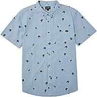 Billabong Boys' Sundays Mini Short Sleeve Woven Shirt
