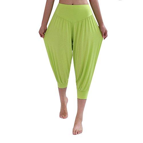DaoJian Femmes Super Soft Spandex Yoga Bloomers Pants